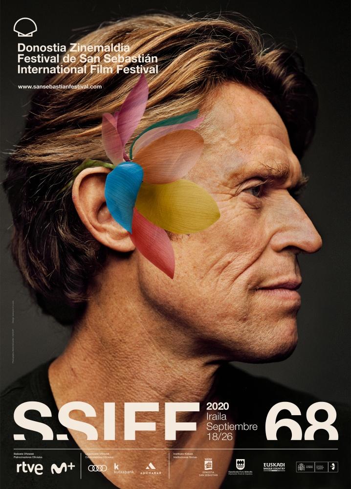 Willem Dafoe protagoniza el cartel de la 68 edición del Festival de San Sebastián