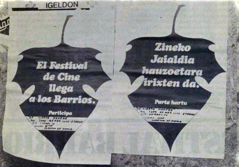 Una exposición rememora la edición de 1977 del Festival de San Sebastián