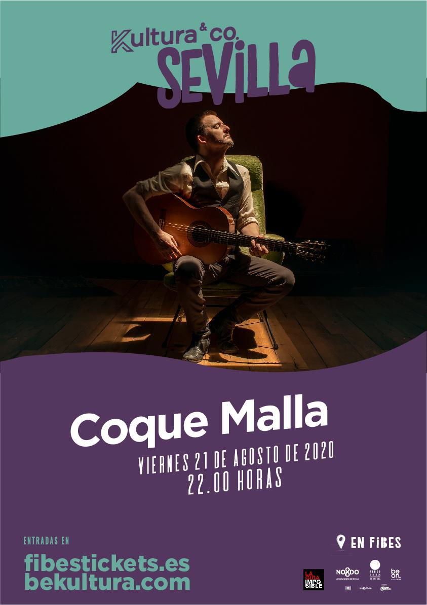 Coque Malla, próxima cita en Kultura&Co Sevilla