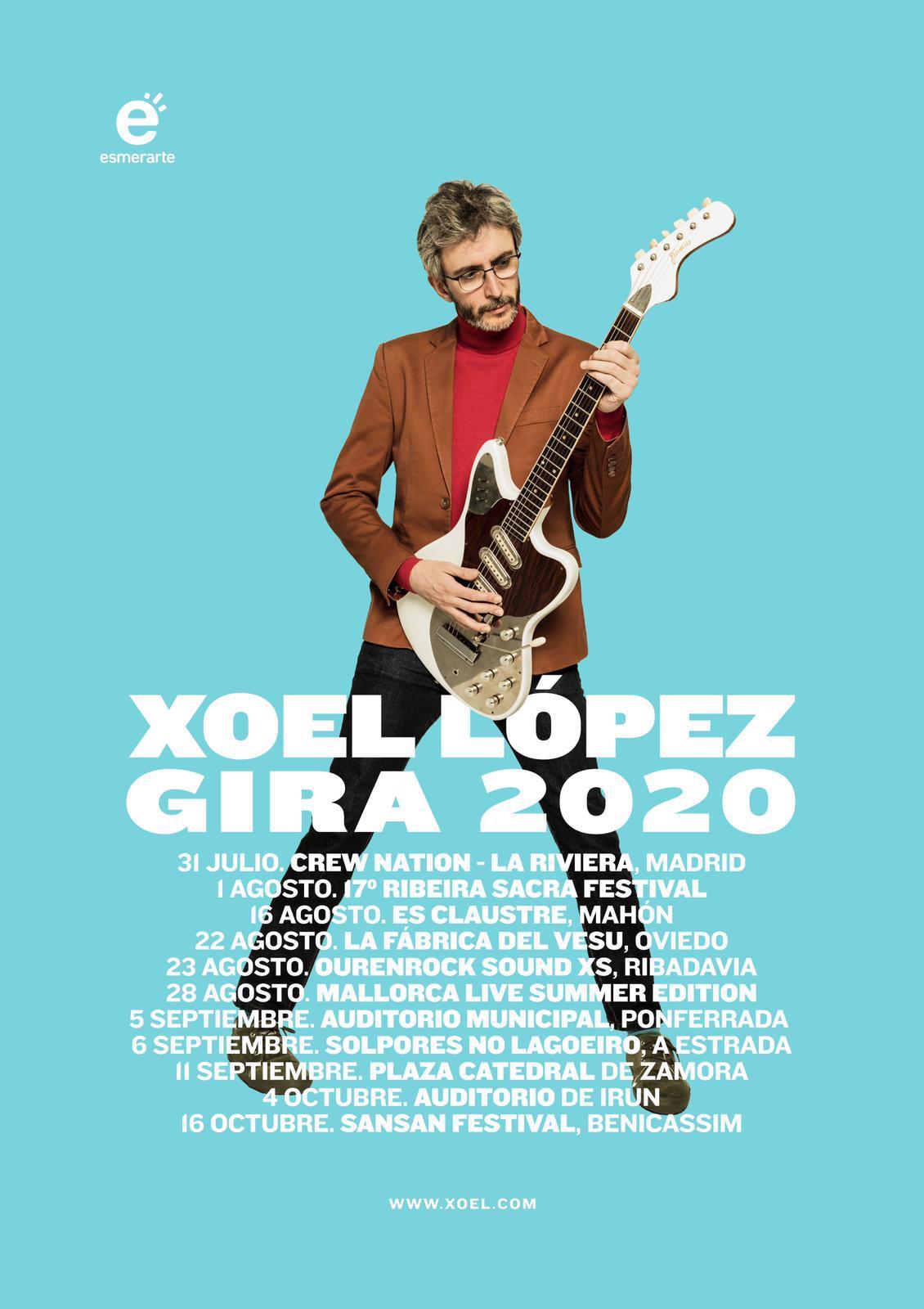 Xoel López hace pública su gira de verano